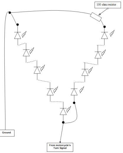 harley ultra turn signal wiring diagram basic sportster turn signal wiring 12v flasher relay